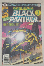 marvel premiere 51 black panther 8.5 or better condition.