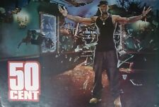 """50 CENT """"ARMS UP & OUTSTRETCHED"""" POSTER FROM ASIA - Hip Hop, Rap Music"""