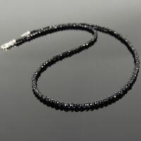 Natural Healing Reiki Gemstone Necklaces Black Onyx Muladhara Root Chakra Stones