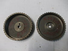PULEGGE ASPIRAZIONE SCARICO ALFA ROMEO ALFASUD L TI TIMING GEAR BELT PULLEYS