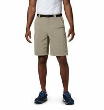 Columbia Sportswear Men's Big and Tall Silver Ridge Cargo Shorts, Fossil, 42 x