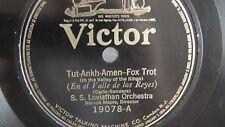 S.S. Leviathan Orchestra - 78rpm single 10-inch – Victor #19078 Tut-Ankh-Amen