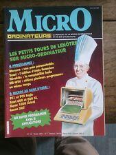 MICRO ORDINATEURS N° 19 le mensuel de la micro-informatique et de ses u