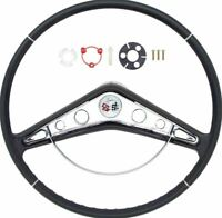 "OER 17"" Steering Wheel With Horn Ring And Emblem 1959-1960 Chevy Impala"
