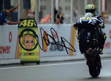 VALENTINO ROSSI Autograph 2017 SIGNED 16x12 Yamaha Photo 13 AFTAL COA The Doctor