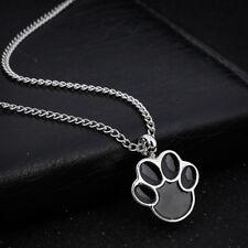 Pet Dog Paw Urn Cremation Pendant Necklace Ash Holder Keepsake Jewelry AU