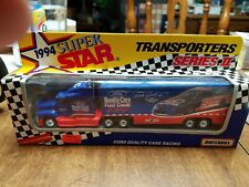 Matchbox Super Star Transporters Ford Quality Care Racing MIB 1994