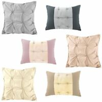 Jones Confection Cotton Blend Embellished Embroidered Sofa Bed Cushion Cover