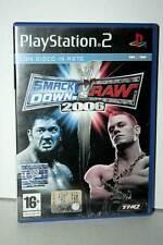 SMACK DOWN VS RAW 2006 USATO PS2 STATO ACCETTABILE VER ITALIANA PAL VBC-E 37833