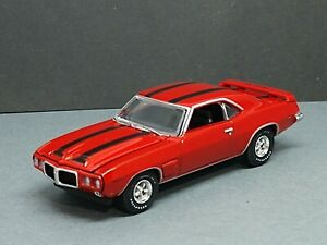 1969 PONTIAC FIREBIRD TRANS AM 1/64 ADULT COLLECTIBLE LIMITED EDITION MUSCLE CAR