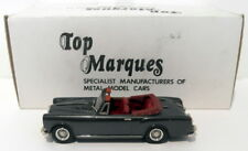Top Marques 1/43 Scale HE8 - 1966-67 Alvis TF Convertible - Dark Silver