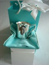 TIFFANY sterling silver ~ NEW ~ CLASSIC BABY CHILD CUP 23245 box,pouch,card
