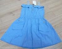 No added sugar girl summer blue dress 5-6 y BNWT  designer