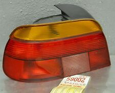 1997-2000 BMW 528i 540i Sedan Left Driver OEM tail light + Harness 02 1D2