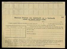 Irlande 1922 bureau de poste timbres retourné forme... racheter... non utilisés