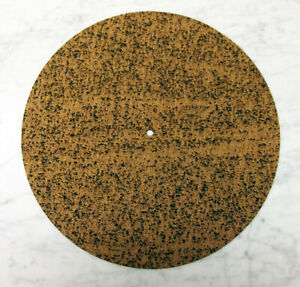Free Shipping! High Quality  Thick Cork Rubber Turntable Slip Mat New!