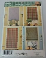Simplicity Sewing Pattern Christopher Lowell Collection Window Shades 4105 Uncut