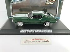 SEAN'S 1967 FORD MUSTANG FAST & FURIOUS GREENLIGHT ESCALA 1:43