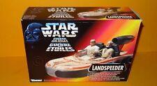 Vintage retro Kenner Landspeeder Star Wars Como Nuevo En Caja 1995 Nave De Luke Raro