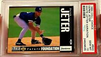 DEREK JETER 1994 UPPER DECK CHOICE WHITE LETTER VARIATION RC #644 PSA 10 POP 64