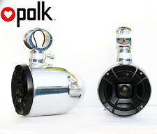 New listing Quick Rotatable Wakeboard Speaker Polk Db652 300Watt Marine Speaker Installed
