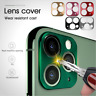 For iPhone 11 / 11 Pro Max METAL 360 3D Rear Camera Lens Screen Protector Cover
