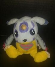 "Gabumon Digimon Plush 6""  Bean Bag plushie toy vintage 1997 Bandai"