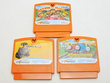 Lot of 3 VTECH v.smile v.motion game cartridges - Wall-E, Action Mania, Thomas