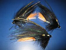 3 V Fly 1.5 Inch Ultimate Alta Cone Head Mikkeli Blue Salmon Tube Flies