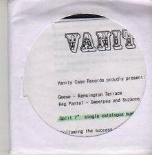 (AZ761) Geese/Reg Pantal, split single - DJ CD