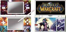 nintendo DS Lite - WORLD OF WARCRAFT - 4 Piece Sticker Skin UK