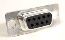 Female DB 9 Pin DB9 DB-9 Serial Solder Cup Type Adapter Connector Plug