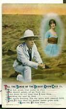 POSTCARD SONG CARDS  Till the sands of the Desert grow cold (1)