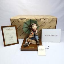 Florence Giuseppe Armani Figurine Awaiting The Rainbow 25th Anniversary 1501C