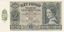 2 PENGO UNC BANKNOTE  FROM HUNGARY 1942  PICK-108  RARE