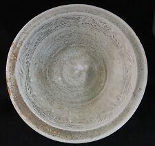 Thai Sukhothai period pottery bowl, 14th/15th c. incised decorations, 10 3/4� di