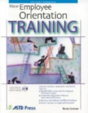 New Employee Orientation Training (Astd Trainer's Workshop Series)-ExLibrary