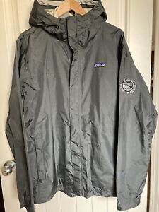 Pearl Jam Patagonia Hooded Windbreaker Jacket 2XL PJ20 Rock-It Cargo