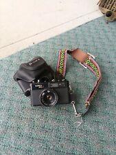 Vintage Yashica Mg-1 Japan Rangefinder Camera W/ Yashinon 45mm 1:28.1 Lens Works