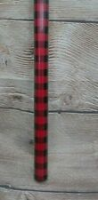 Nip Christmas Red & Black Buffalo Plaid Wrapping Paper Gift Wrap 50 Ft x 30""