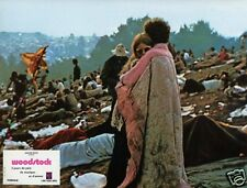 WOODSTOCK  1970 VINTAGE LOBBY CARD #14 SUMMER OF LOVE HIPPIES