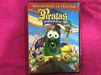 Veggietales La Film Pirati con Anima De Heroes Nuovo New Sigillata DVD Rara