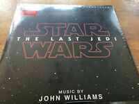 """Star Wars The Last Jedi - 12"""" LP BRAND NEW AND SEALED MINT CONDITION"""