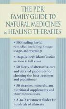 The PDR Family Guide to Natural Medicines & Healing Therapies (Pdr-ExLibrary