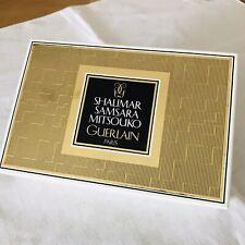 Vintage Guerlain Parfum 3 Miniaturen Shalimar Samsara Mitsouko