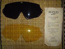 militaria Visières Lunettes réglementaires de pilote ROD 88 originales