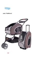 pet stroller cat dog 3 wheel