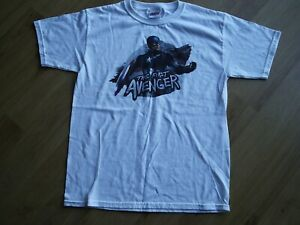 MARVEL THE FIRST AVENGER CAPTAIN AMERICA WHITE TSHIRT SIZE XL YOUTH