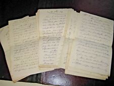 L.G.H. RENARD 35 X Autographe Signé 1879 MAIRE CAMBRAI NORD à Sa FILLEULE Rare