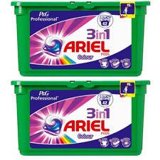 2 x Baccelli di lavaggio Ariel 3 in1 colore 42 Capsule per vasca da bagno vestiti LAVAGGI